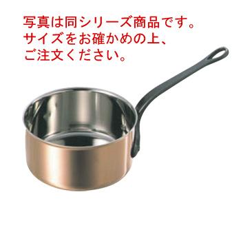 マトファー/ブウジャ シチューパン 3600-18cm ステン/銅【シチューパン】【MATFER】【BOURGEAT】【片手鍋】【銅鍋】【業務用鍋】【業務用】