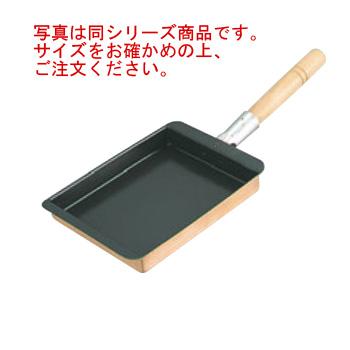EBM 銅 玉子焼 関西型(フッ素樹脂加工)16.5cm【フライパン】