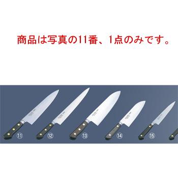 ミソノ スウェーデン鋼 ツバ付 牛刀 No.111 18cm【包丁】【Misono】【キッチンナイフ】