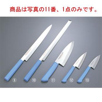 マスターコック 抗菌カラー庖丁 和出刃 MCDK165 ブルー【包丁】