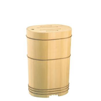 木製 小判 庖丁桶(04307)【包丁差し】【包丁入れ】【包丁スタンド】
