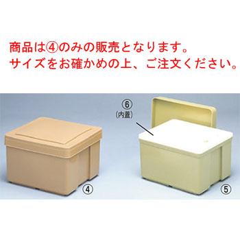 EBM-19-0670-02-002 保温保冷食缶 小 KC-200 薄茶 フードケース 415×335 保冷缶 低価格化 保温缶 予約販売