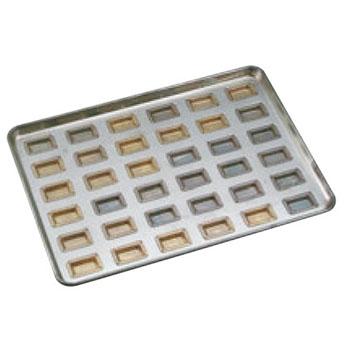 シリコン加工 センチュリー型 天板 小(36ケ取)【業務用】【オーブン天板】