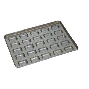 シリコン加工 シーズ型 天板(25ヶ取)【業務用】【オーブン天板】