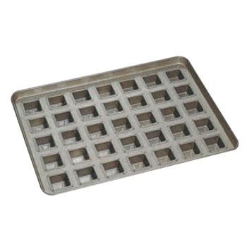 シリコン加工 フォーマル型 天板(35ヶ取)【業務用】【オーブン天板】