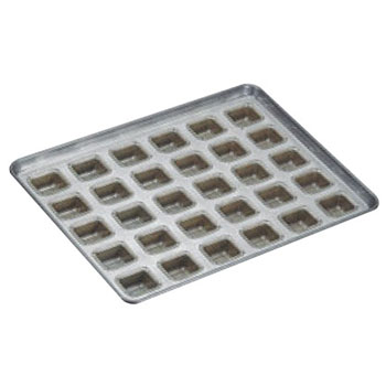 シリコン加工 ホール型 天板(30ヶ取)【業務用】【オーブン天板】