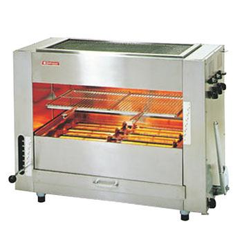 赤外線同時両面焼グリラー 武蔵 SGR-90 LP【代引き不可】【業務用】【焼物器】【魚焼き器】