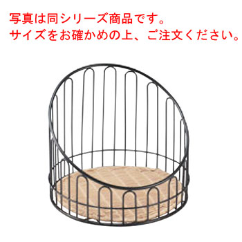 バゲットスタンド丸 DS508 高 ナチュラル φ355×H400【業務用】【パンかご】