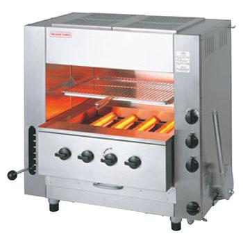 赤外線同時両面焼グリラー NEW武蔵 SGR-N65 LP【代引き不可】【業務用】【焼物器】【魚焼き器】