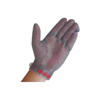 ニロフレックス メッシュ手袋 プラスチックベルト付(1枚)左手用 SS【手袋】【軍手】【保護手袋】
