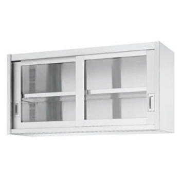 吊戸棚 HG60型(片面ガラス戸)HG60-7530【代引き不可】【吊り戸棚】【戸棚】【キッチン収納】