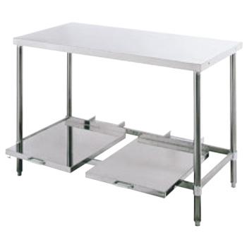 パイプ脚 炊飯台 USH型 USH-604 バックガード無【代引き不可】【作業台】【ステンレス作業台】【テーブル】