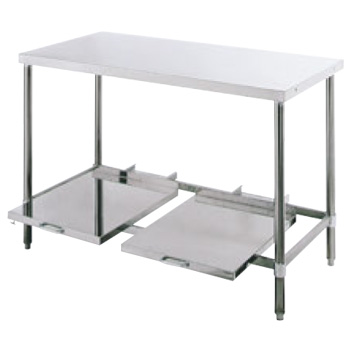 パイプ脚 炊飯台 USH型 USH-606 バックガード無【代引き不可】【作業台】【ステンレス作業台】【テーブル】