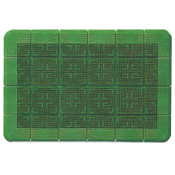 クロスハードマット(玄関マット)#15 緑 900×1500【屋外用マット】【玄関マット】【マット】