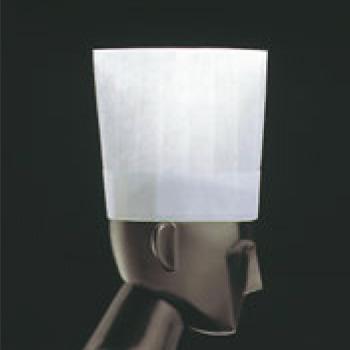 ノンプリーツ シェフハット(50枚入)N39110 H200【コック帽】【シェフ帽子】【コックハット】