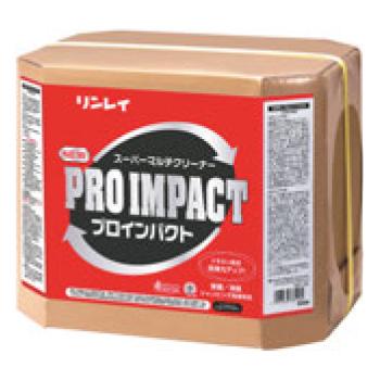 リンレイ 多目的洗剤 NEWプロインパクト 18L【清掃用品】【業務用】【ワックス】