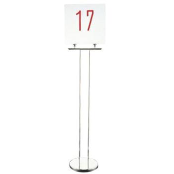 UK 18-8 テーブルナンバースタンド プレーンベース1020【店舗美品】【スタンド】【予約スタンド】