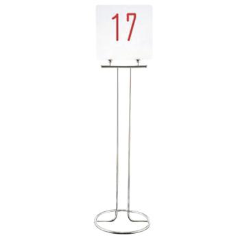 EBM-19-1079-11-001 UK 入荷予定 18-8 テーブルナンバースタンド スタンド ドーナツベース2020 予約スタンド 店舗美品 高級な