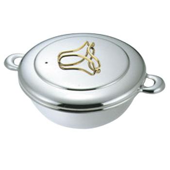 プロデンジ しゃぶしゃぶ鍋(ツマミ金仕上)26cm【IH対応】