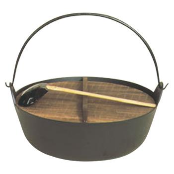 五進 鉄 ジャンボ 田舎鍋 50cm(E-34)【代引き不可】【業務用】【鉄鍋】