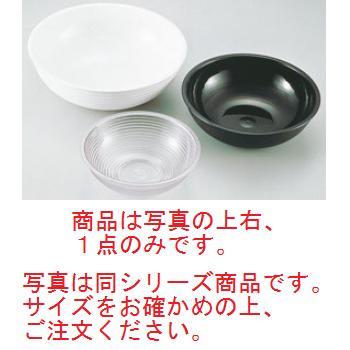 キャンブロ 丸型リブド サラダボールRSB18CW(110)ブラック【食器】【ボウル】