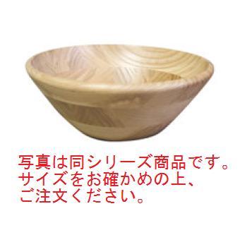 ホワイトアッシュ サラダボール 縁丸タイプ 130030 φ255【プレート】【木製】