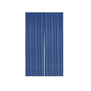 藍染めのれん 京縞 NID3015-BI【飲食店のれん】【暖簾】