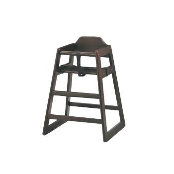 ベビーチェア ミルク SBC-520DBR ダークブラウン【子供イス】【お子様用椅子】【木製椅子】【飲食店備品】【スタッキング椅子】
