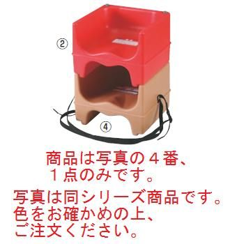 キャンブロ ベビーシッター(ストラップ付)200BCSJ(131)D/B【子供イス】【幼児用椅子】【飲食店備品】