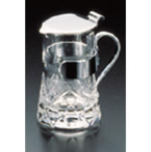 ガラス製 ミルクピッチャー 矢来 大【喫茶用品】【紅茶】【珈琲】【コーヒー】【業務用】