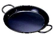 鉄パエリア鍋(両手) 60cm【代引き不可】【鉄】【鉄鍋】【鉄なべ】【鉄黒皮】【両手鍋】【業務用】