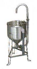 RWO-28型ドラフト洗米機【代引き不可】【業務用洗米機 洗米器】【業務用】