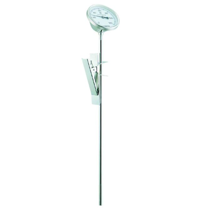 寸胴鍋用 バイメタル温度計 BM-R-75【鍋用】【調理用温度計】【防滴仕様】【業務用】