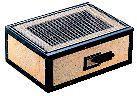 炭火バーベキューコンロ BQ-12号 (4から8人用)【焼き物 コンロ 串焼き】【ファイアグリル】【BBQコンロ】【業務用】