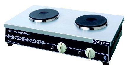 電気コンロ THP-1W【代引き不可】【ニチワ 卓上コンロ】【業務用】