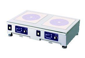 電磁調理器 MIR-2.5NTW【代引き不可】【IH調理器】【IHコンロ】【卓上型】【2連】【業務用】