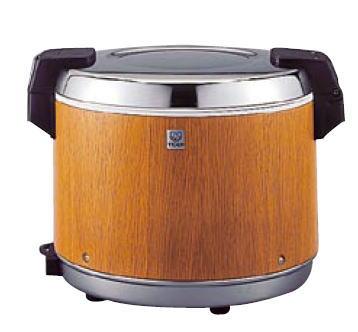 保温ジャー 保温器 11-0291-0101 タイガー業務用 迅速な対応で商品をお届け致します 電子ジャー 炊きたて JHA-4000 保温専用 ご飯 木目 業務用 白米 爆売りセール開催中