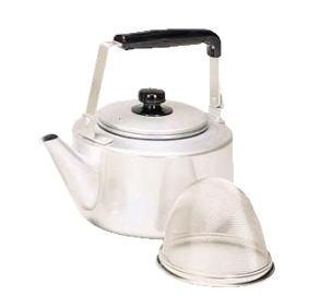 茶コシ付 大型ケットル 8L【やかん ケトル】【アルミ】【業務用】
