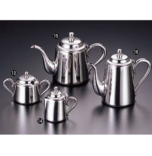 UK18-8 M型 コーヒーポット 7人用【喫茶用品】【珈琲】【ステンレス】【業務用】