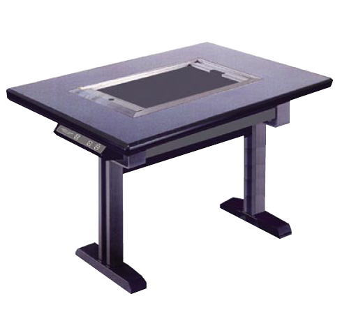 鉄板焼テーブル (カーボン ランプヒーター) IC-109KY 鉄(黒)【業務用鉄板焼機 電気鉄板焼き器】【代引不可】【グリドル】【鉄板焼き】【お好み焼き】【焼きそば】【業務用】