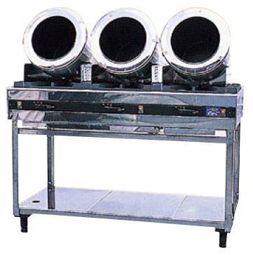 ロータリーシェフ RC-3型 (ガス種:プロパン) LP【代引き不可】【ガス 回転炒め機】【ガス 回転炒め機】【クマノ厨房】【業務用】