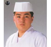 使い捨て和帽子 D24110 (50枚入)【コック帽】【cock hat】【スカルキャップ】【Toque blanche】【業務用】