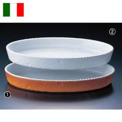 小判グラタン皿 カラー PC200-48【ROYALE】【ロイヤル】【オーブン皿】【耐熱磁器】【オーブンウェア】【皿】【業務用】