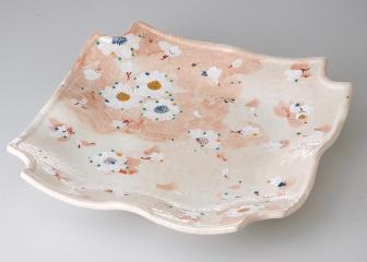 淡墨桜 角盛皿