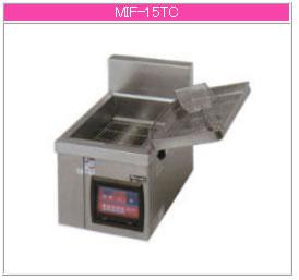 マルゼン IH式 電磁フライヤー MIF-15TC【代引き不可】【業務用 フライヤー】【揚げ物】