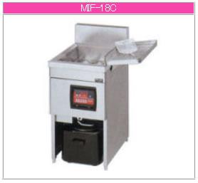 マルゼン IH式 電磁フライヤー MIF-18C【代引き不可】【業務用 フライヤー】【揚げ物】