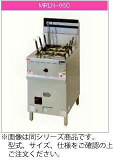 マルゼン ガス式 涼厨角槽型ゆで麺機 MRLN-04C【代引き不可】【業務用 ゆで麺器】【茹で釜】【ガス茹めん機】【角槽型】【涼しい厨房】
