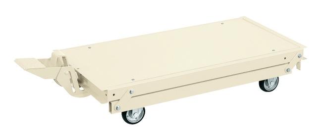 作業台オプションペダル昇降台車 KTW-127DPSI【代引き不可】