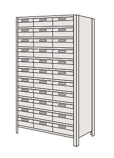 物品棚LEK型樹脂ボックス LEK1110-30T【代引き不可】