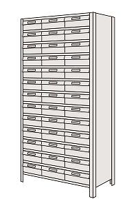 物品棚LEK型樹脂ボックス LEK2114-39T【代引き不可】